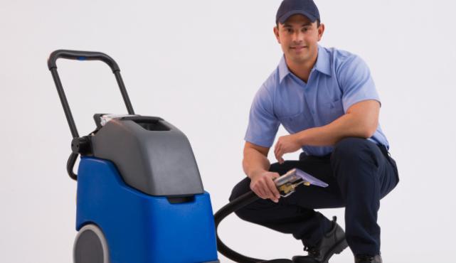 zacznij działać jako carpet cleaner