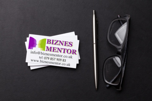 biznesmentor business card